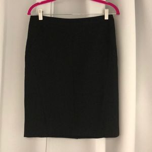Black pencil skirt. Size 8. Lightly worn